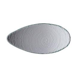 Scape Glass, Platte oval ø 300 mm glasklar