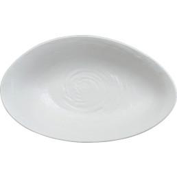 Scape Melamine, Bowl oval groß 400 x 240 x 100 mm weiß