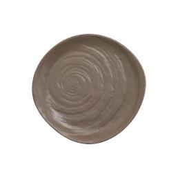 Scape Melamine, Teller ø 230 mm mushroom