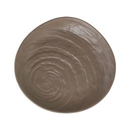 Scape Melamine, Teller ø 280 mm mushroom