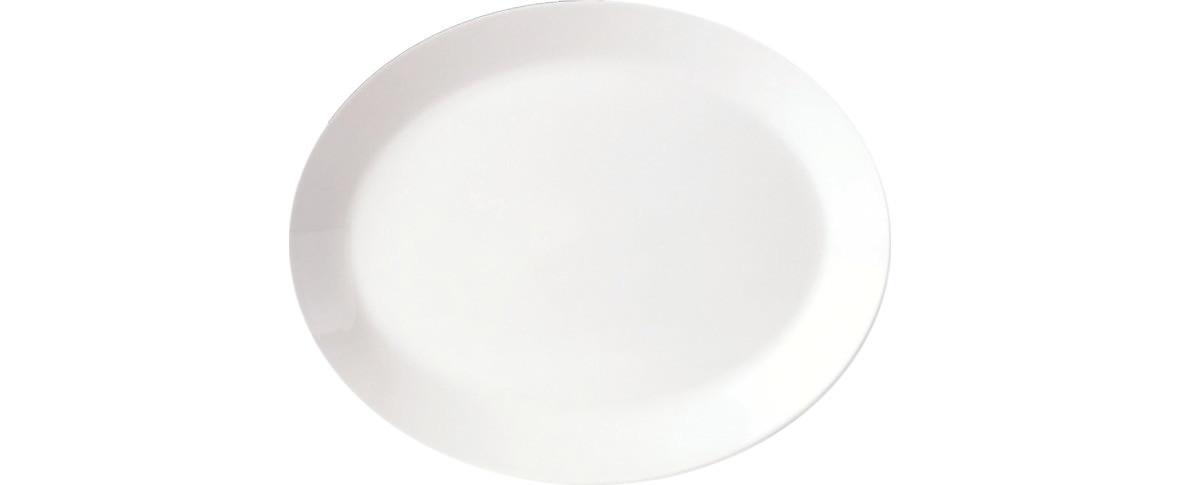 Simplicity, Platte oval ø 203 mm