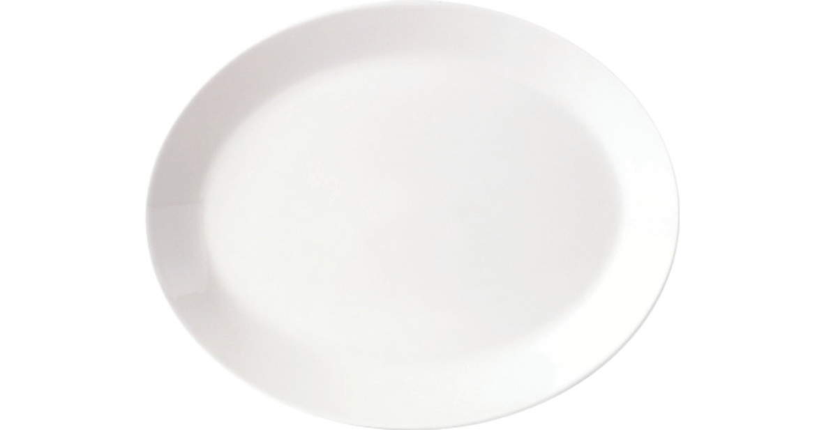 Simplicity, Platte oval ø 255 mm