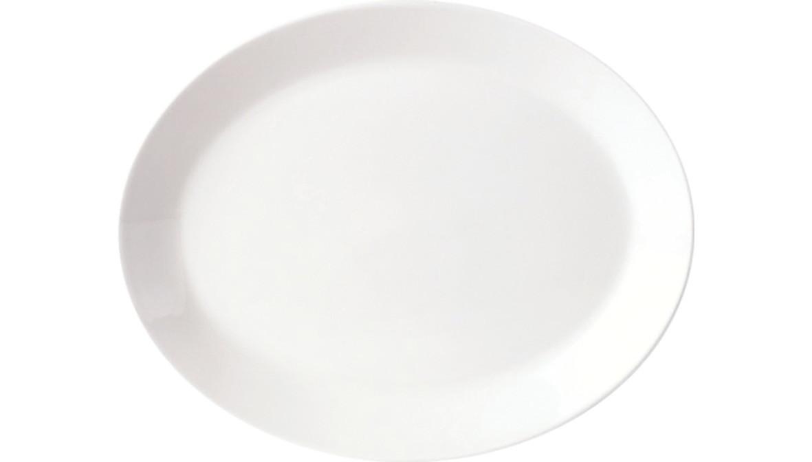 Simplicity, Platte oval ø 280 mm
