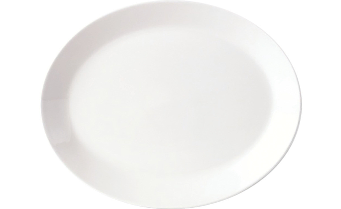 Simplicity, Platte oval ø 305 mm