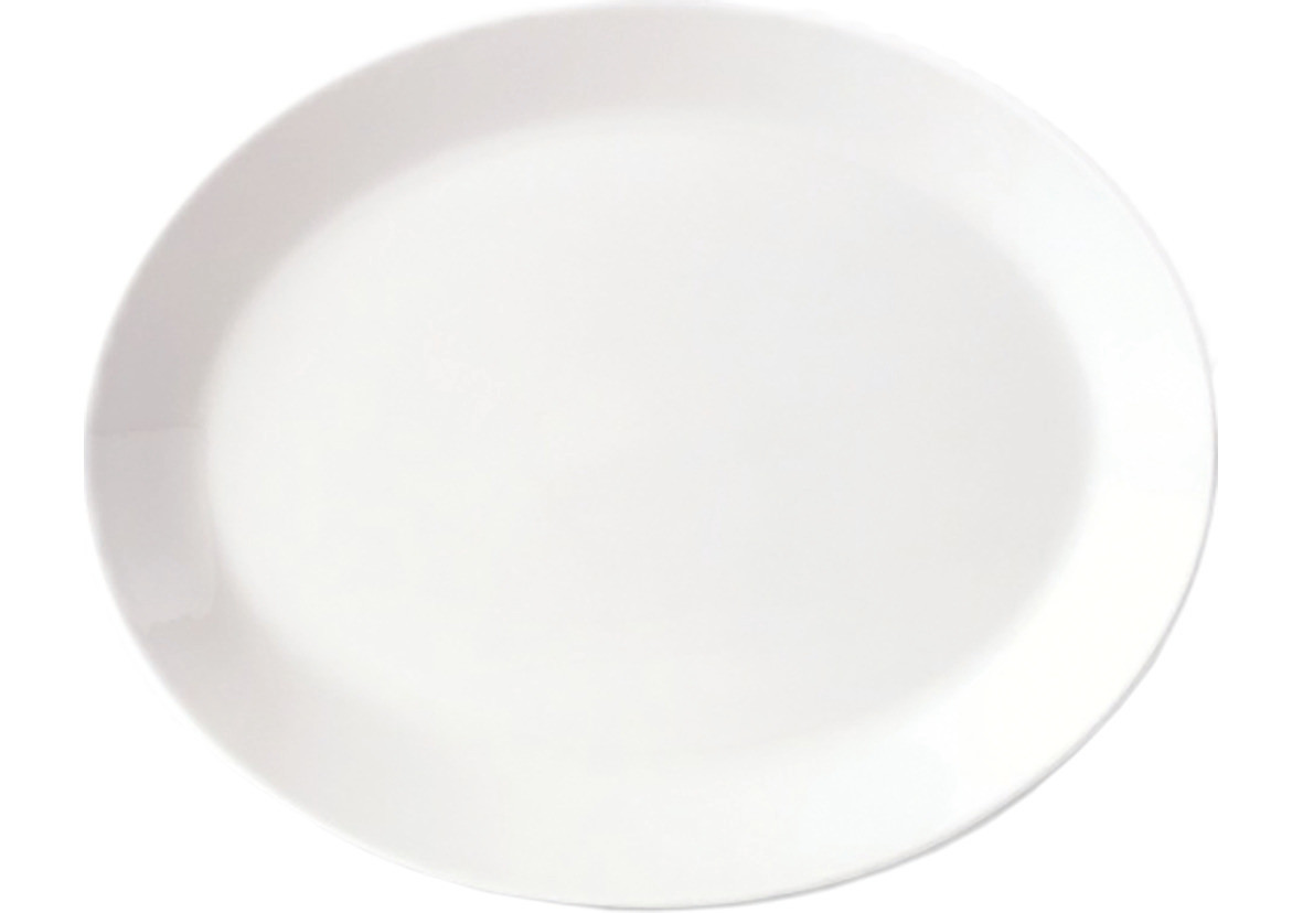 Simplicity, Platte oval ø 343 mm