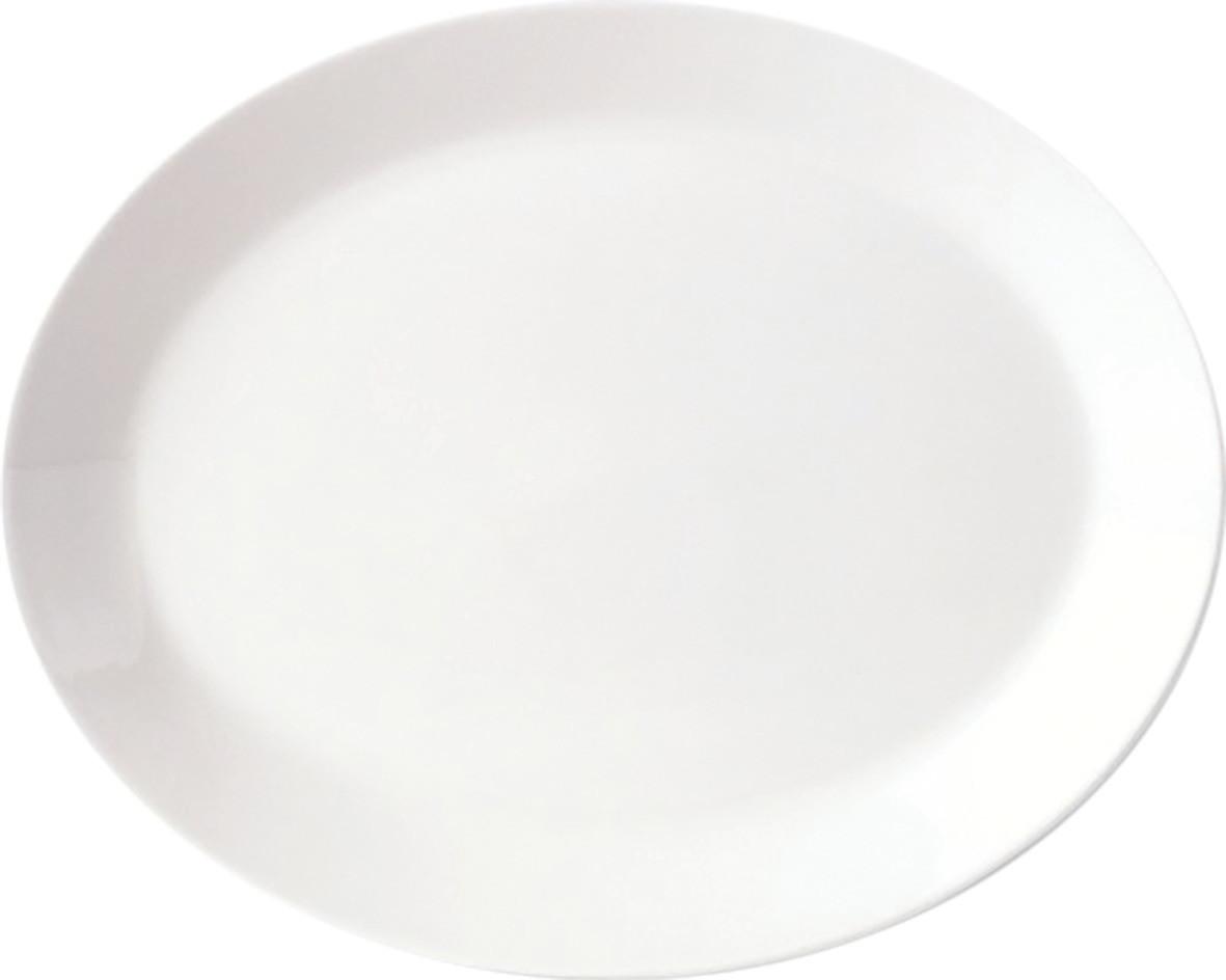 Simplicity, Platte oval ø 395 mm