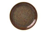 Vesuvius, Coupteller ø 203 mm Amber