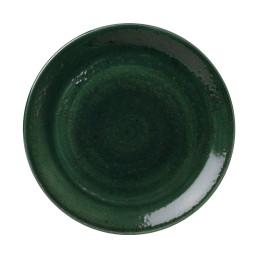 Vesuvius, Coupteller ø 280 mm Burnt Emerald