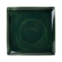 Vesuvius, Platzteller 270 x 270 mm Burnt Emerald