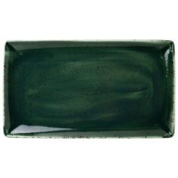 Vesuvius, Platte rechteckig 330 x 190 mm Burnt Emerald