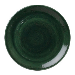 Vesuvius, Coupteller ø 300 mm Burnt Emerald