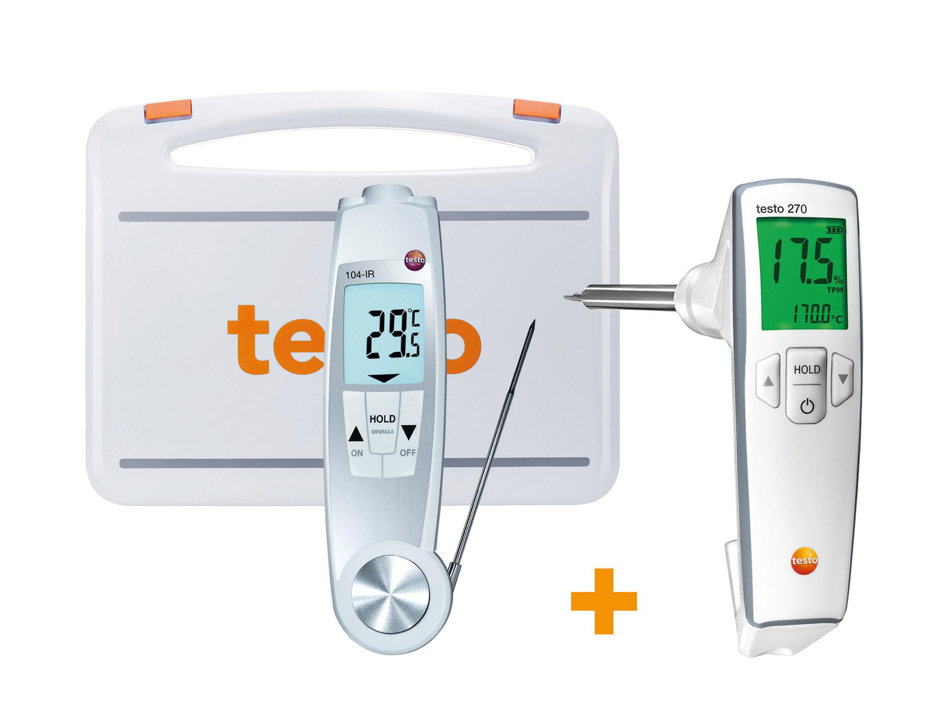270 & 104-IR Frittieröl-Temperatur Set