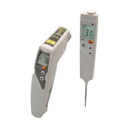 831 & 106 Infrarot-Temperaturmessgerät / Einstech-Lebensmittel-Thermometer