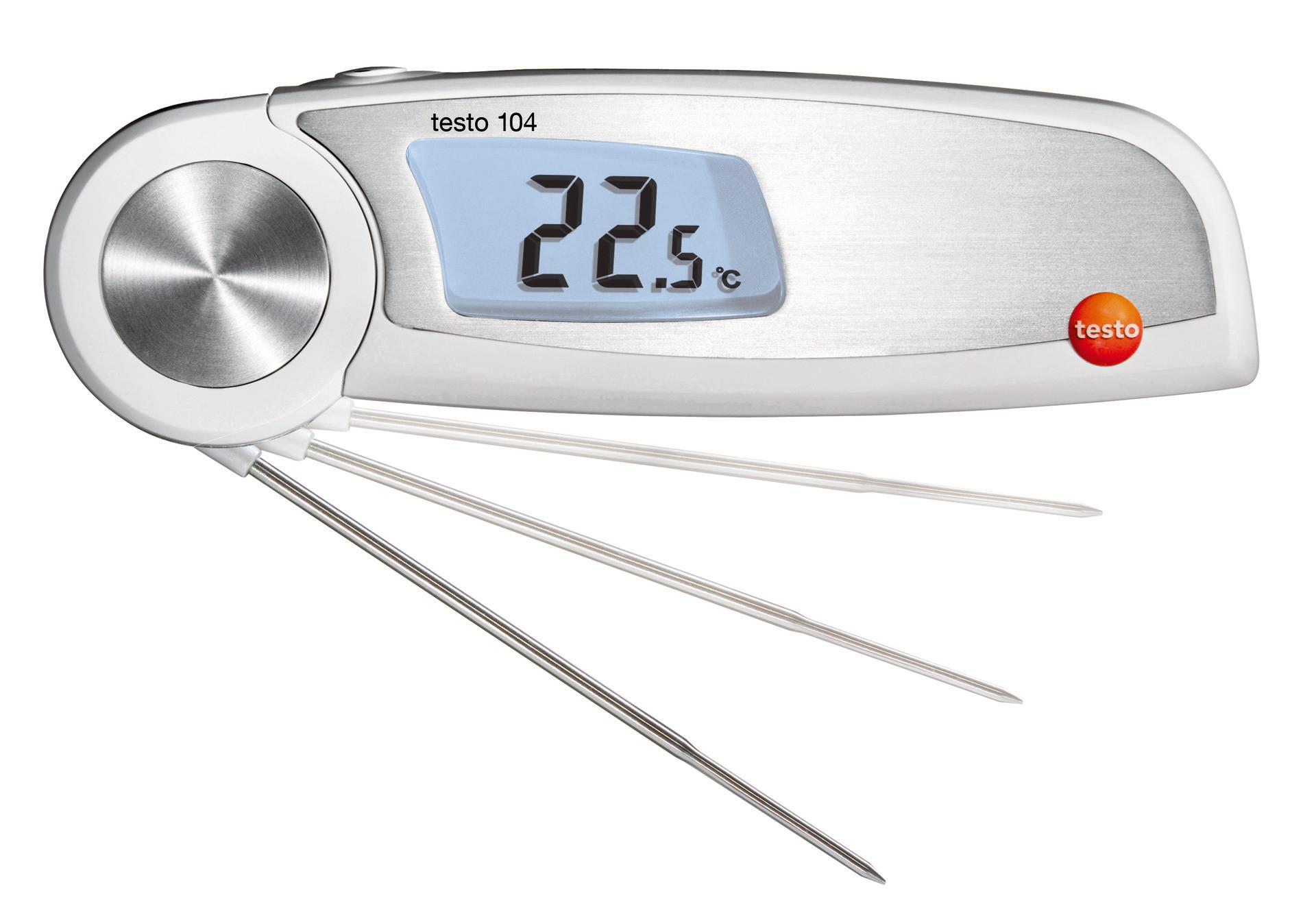 104 Klapp-Thermometer wasserdicht -50°C bis +250°C Fühler 106 mm lang
