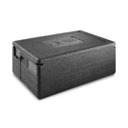 EPP-Box Unistar 70,00 l / 695 x 495 x 320 mm schwarz mit Deckel
