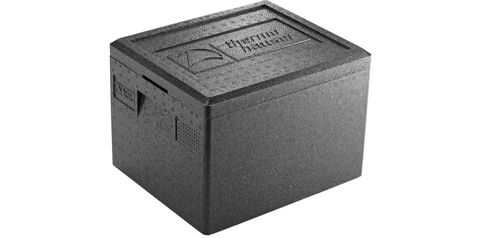 EPP-Box GN 1/2 / 10,00 l / 390 x 330 x 180 mm / schwarz