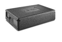 EPP-Box GN 1/1 Gastrostar 21,50 l / 600 x 400 x 180 mm inkl. Deckel schwarz