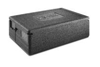 EPP-Box GN 1/1 Gastrostar 30,00 l / 600 x 400 x 230 mm inkl. Deckel schwarz