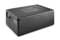 EPP-Box GN 1/1 Gastrostar 40,00 l / 600 x 400 x 280 mm inkl. Deckel schwarz