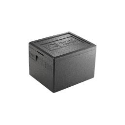 EPP-Box GN 1/2 / 7,00 l / 390 x 330 x 145 mm / schwarz