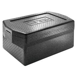 EPP-Box Comfort GN 1/1 / 21,00 l / 670 x 400 x 185 mm / schwarz