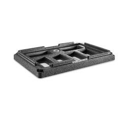 EPP-Box Gastrostar Kühlaufsatzrahmen GN 1/1 600 x 400 x 80 mm