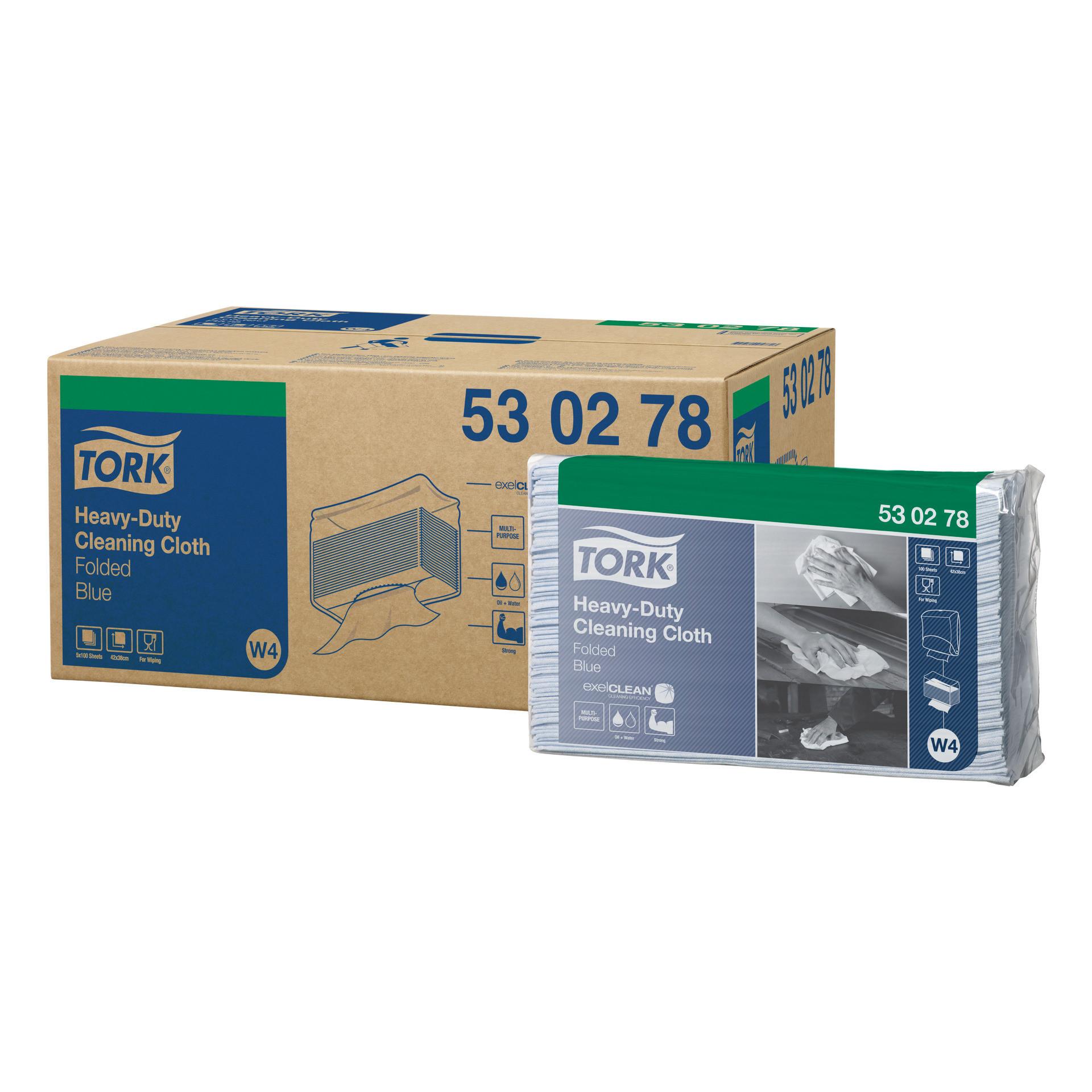 Extra starke Reinigungstücher 5 x 100 Tücher / Tuch 428 x 355 mm