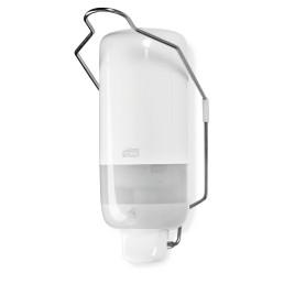 Spender mit Armhebel für Flüssigseife 112 x 114 x 296 mm weiß