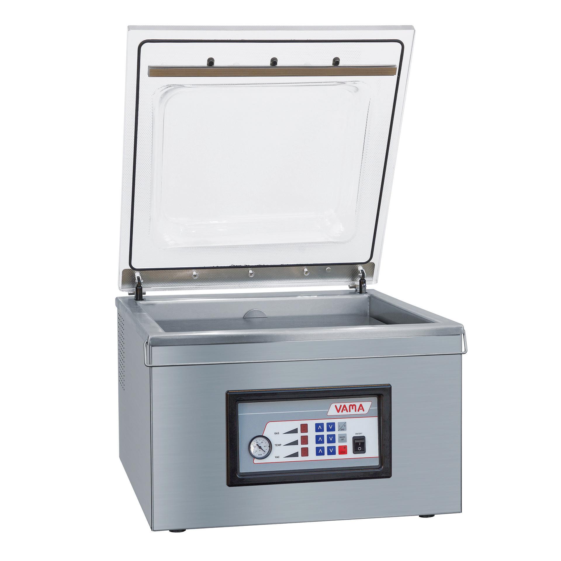 Vakuumiergerät 21 m3/h / Kammer 530 x 530 x 180 mm / VacBox 510