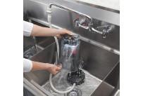 Rinse-O-Matic zur Reinigung von Mixer-Behältern