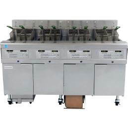 Elektro-Frittierstation 2 x 15,00 l / 2 FQE 30 U / 2 x 230 V / 330 x 356 mm