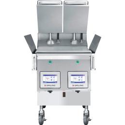 Hochleistungs-Xpress-Grill 2 Platten / Grillfläche 603 x 559 mm