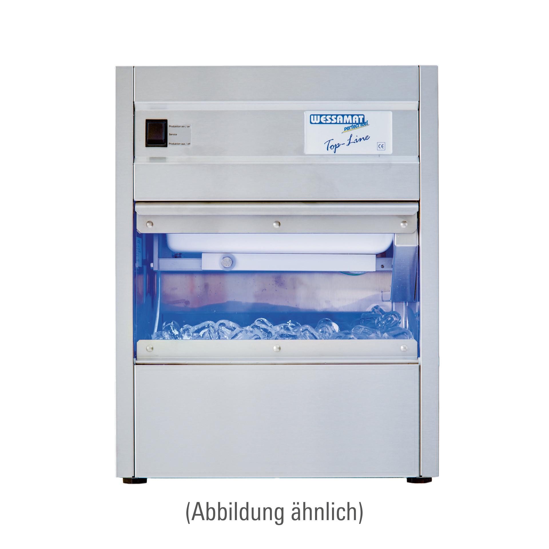 Eiswürfelbereiter W 51 W / 55,00 kg/24 h / 29,00 kg Vorrat / Wasserkühlung