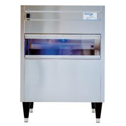Eiswürfelbereiter W 81 L / 80,0 kg/24 h / 50,0 kg Vorrat / Luftkühlung