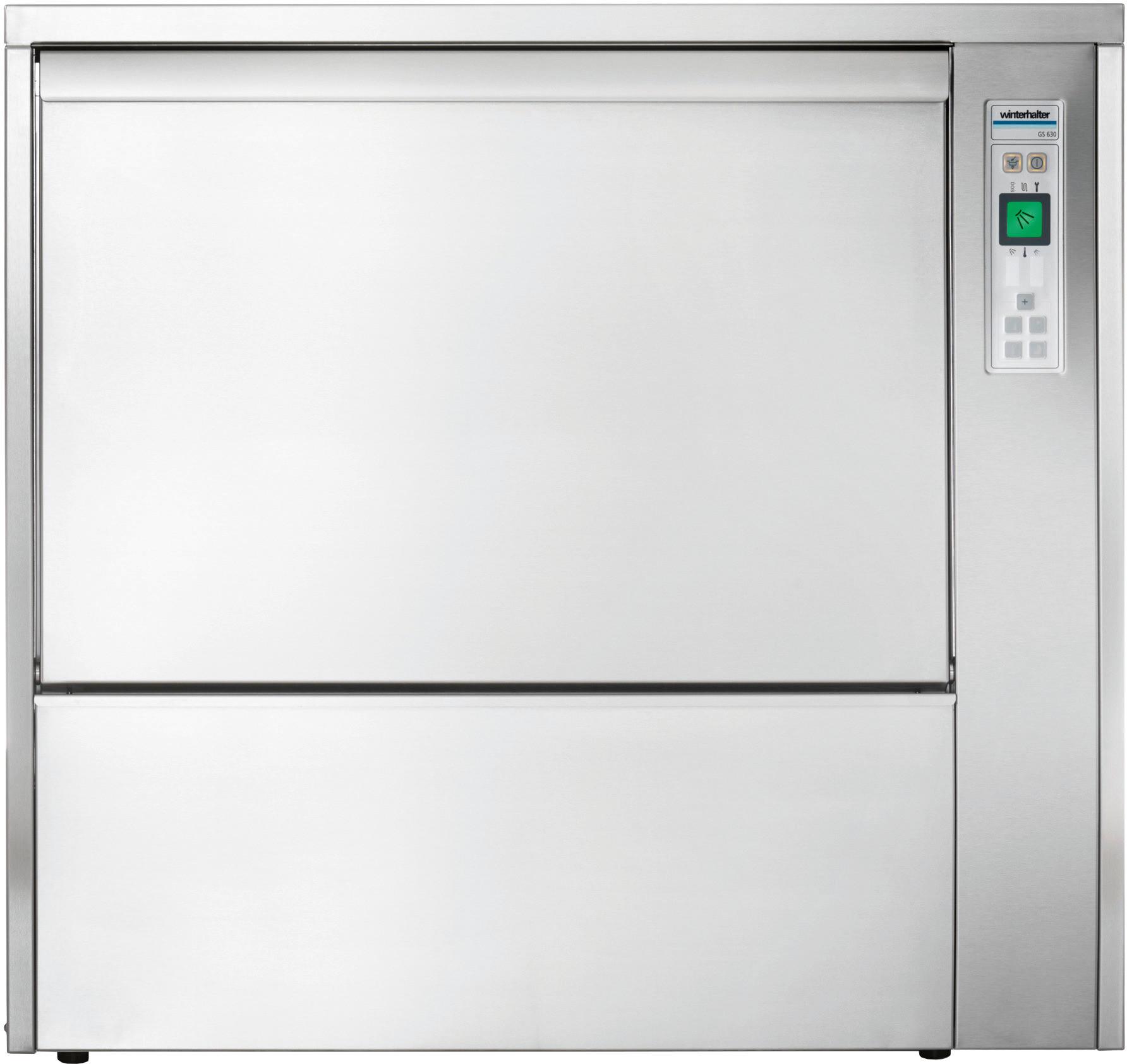 Gerätespülmaschine GS 630 / 650 x 508 mm / mit Klarspüler / Reiniger Dosiergerät