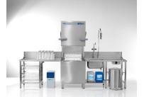 Durchschubspülmaschine PT-L / 500x500mm / mit Klarspüler-/und Reinigerdosiergerät