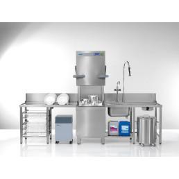 Durchschubspülmaschine PT-M / 500 x 500 mm / mit Enthärter / Energy Plus