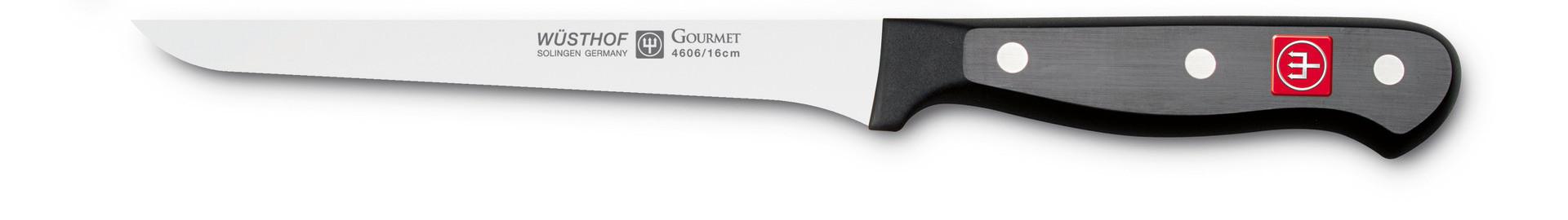Gourmet, Ausbeinmesser Klingenlänge 160 mm / 300 mm lang
