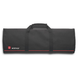 Kochmappe (leer) 510 x 170 mm für 12 Teile Klingenlänge bis 320 mm schwarz