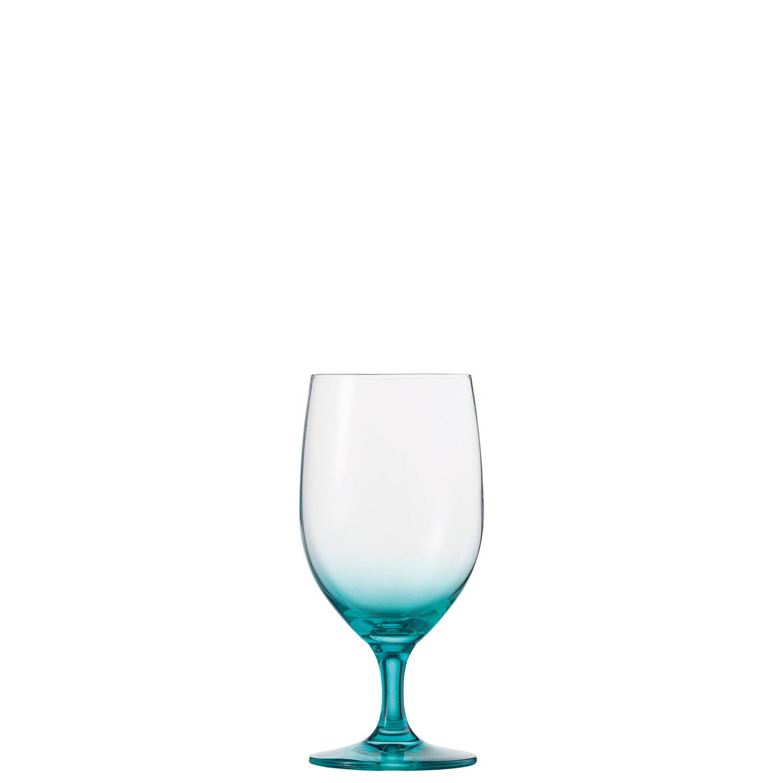 Vina Touch, Wasserglas ø 83 mm / 0,45 l lagune mit Moussierpunkt