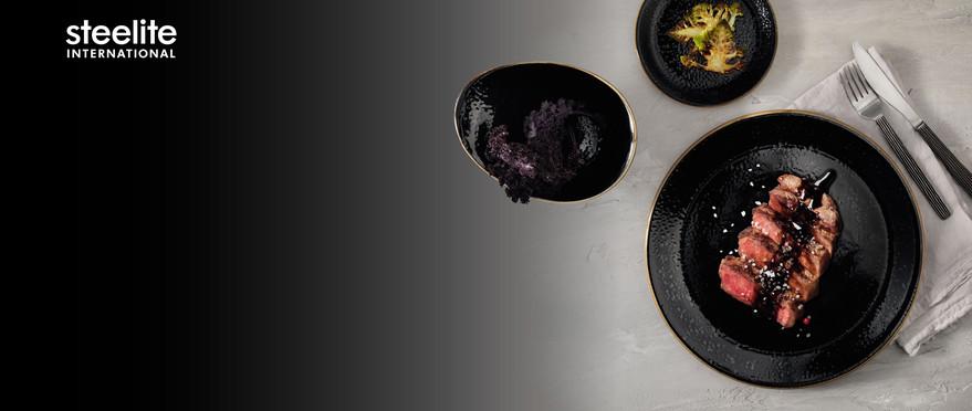 Geschirrserie Craft Liquorice.